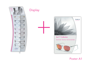 Purity Inkl. Display + Plakat - NIKA eyewear